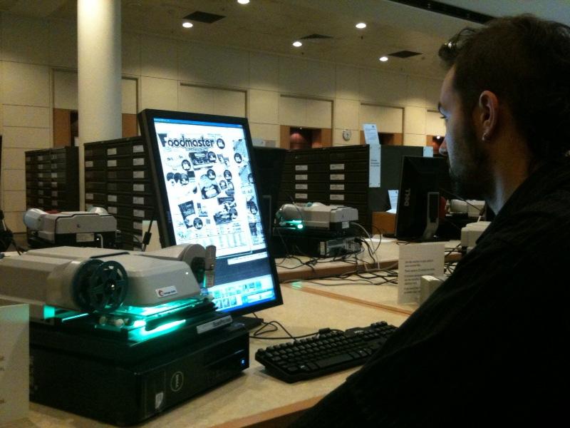 New microfilm reader