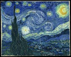 Van Gogh The Starry Night, 1889