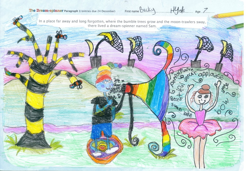 High standard of entries in Draw a Story competition