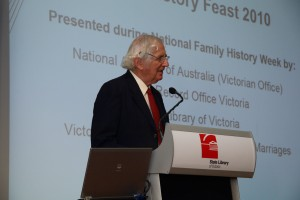 Date for your diary : Family History Feast 2011