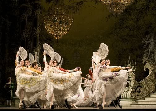 Scene from The Merry Widow, National Ballet of Canada.