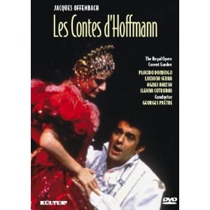 The Tales of Hoffmann: opera screening.