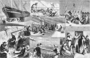 Life on board a migrant ship
