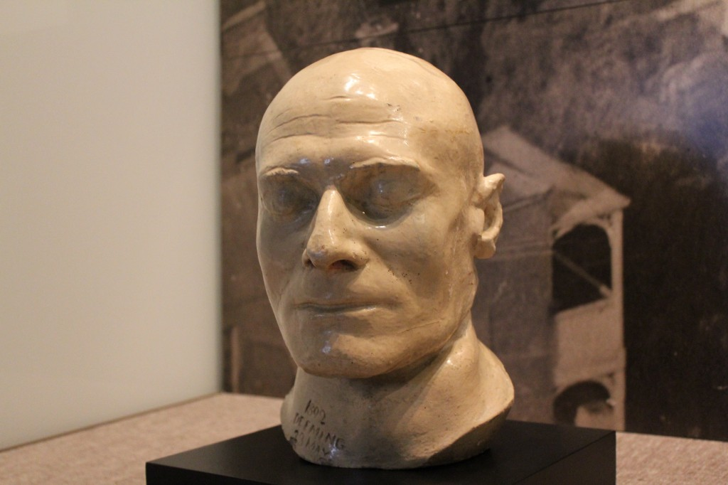 Death mask of Frederick Bailey Deeming