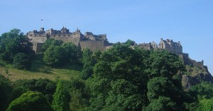 Edinburgh Castle: David Monniaux (Wikimedia Commons)