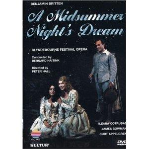 A Midsummer Night's Dream: opera screening.