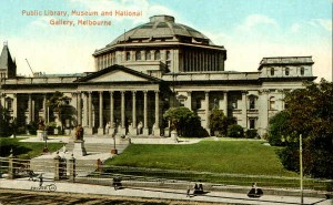 Public Library, Museum and National Gallery, Melbourne (PCPCA 130 )