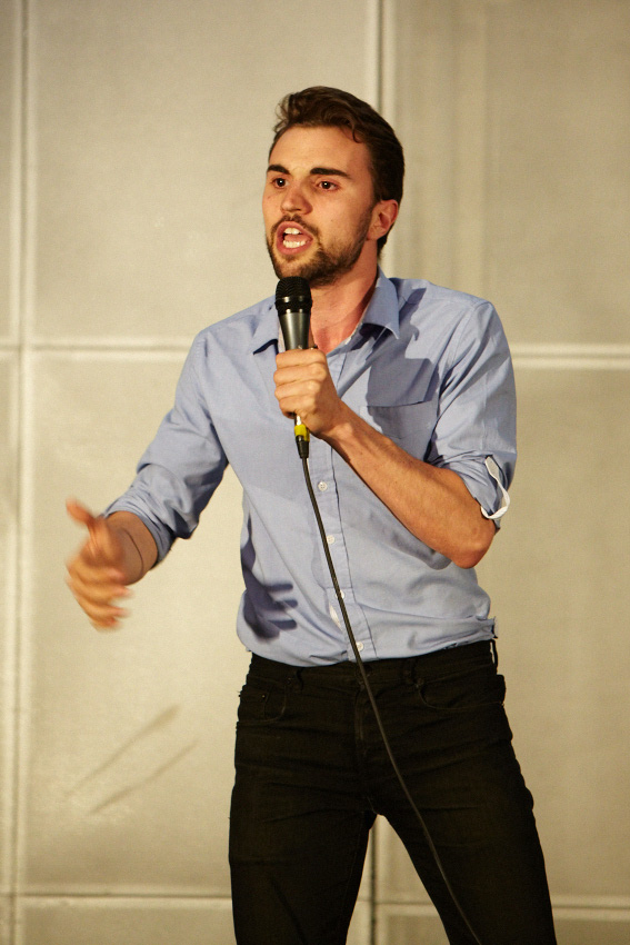 A love of language wins out in poetry slam state final