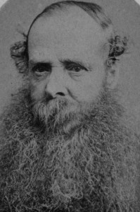 Photograph showing a bearded man, Richard Sutcliffe, taken by T. F. Chuck