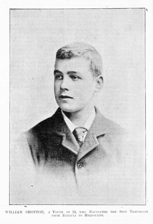 Formal portrait of a young man, William Shotton.
