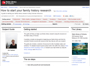 'How to start your family history research', updated research guide now available