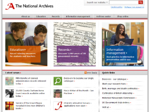 UK National Archives Discovery Service – trial from home