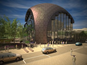 Plans for the new Geelong Library