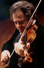 Itzhak Perlman by Gazagoal. 5 May 2006. Courtesy Wikimedia Commons