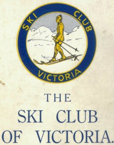 The badge of the Ski Club of Victoria.