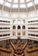 State Library of Victoria's domed reading room