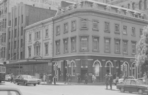 Smith worked in A C Mence building, Elizabeth Street east.