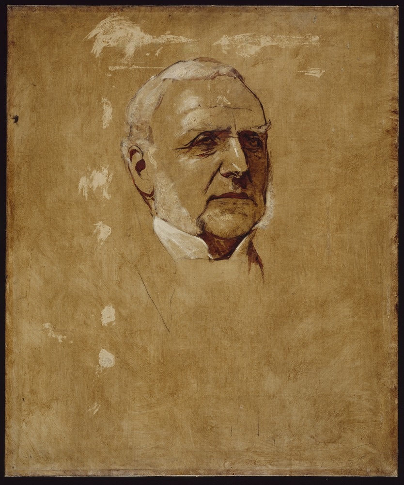 George Frederick Folingsby, Sir Redmond Barry, c 1880, oil on canvas, State Library of Victoria