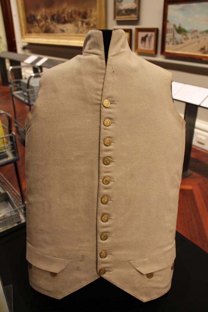 Captain Cook's waistcoat