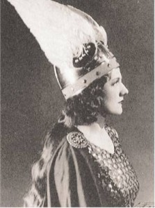 Australian Marjorie Lawrence as Brunnhilde