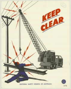 Posters of the National Safety Council of Australia