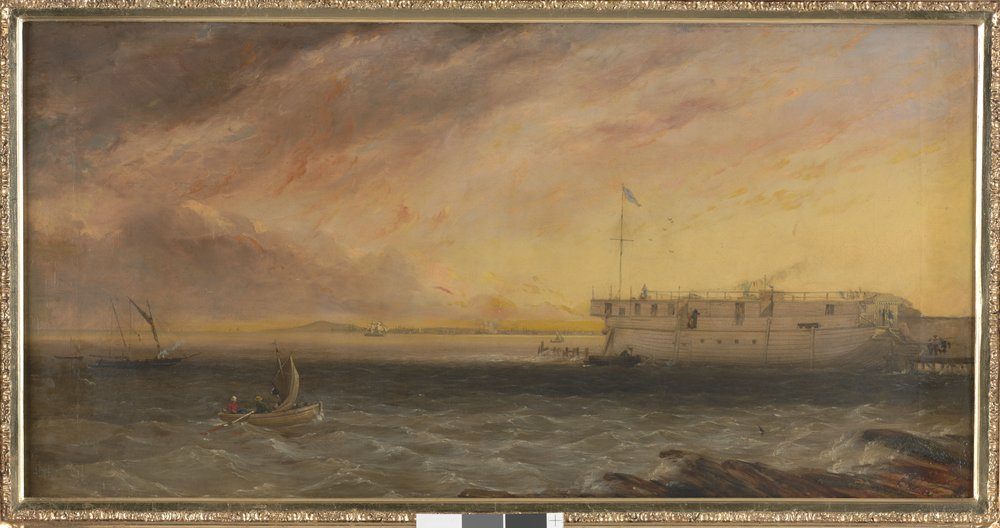 Thomas Clark: Kenney's Baths, St Kilda