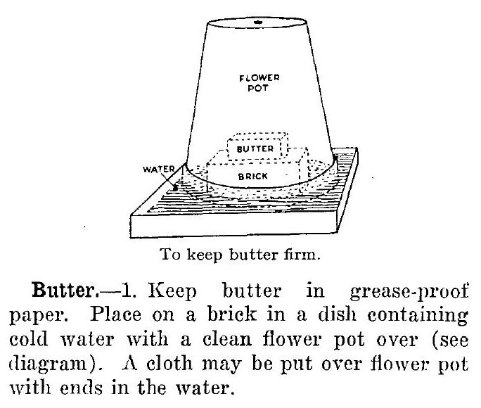 Helpful advice on keeping butter cool