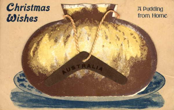 A 1920 Christmas postcard.