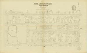 Melbourne Metropolitan Board of Works Detail Plan