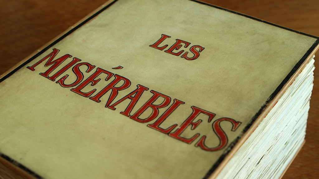 Victor Hugo's manuscript of Les Misérables 1862