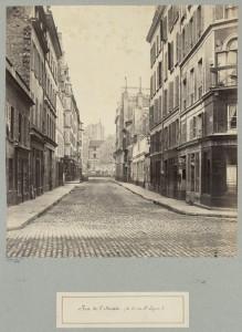 Marville: Rue de l'Arcade (de la rue St. Lazare)