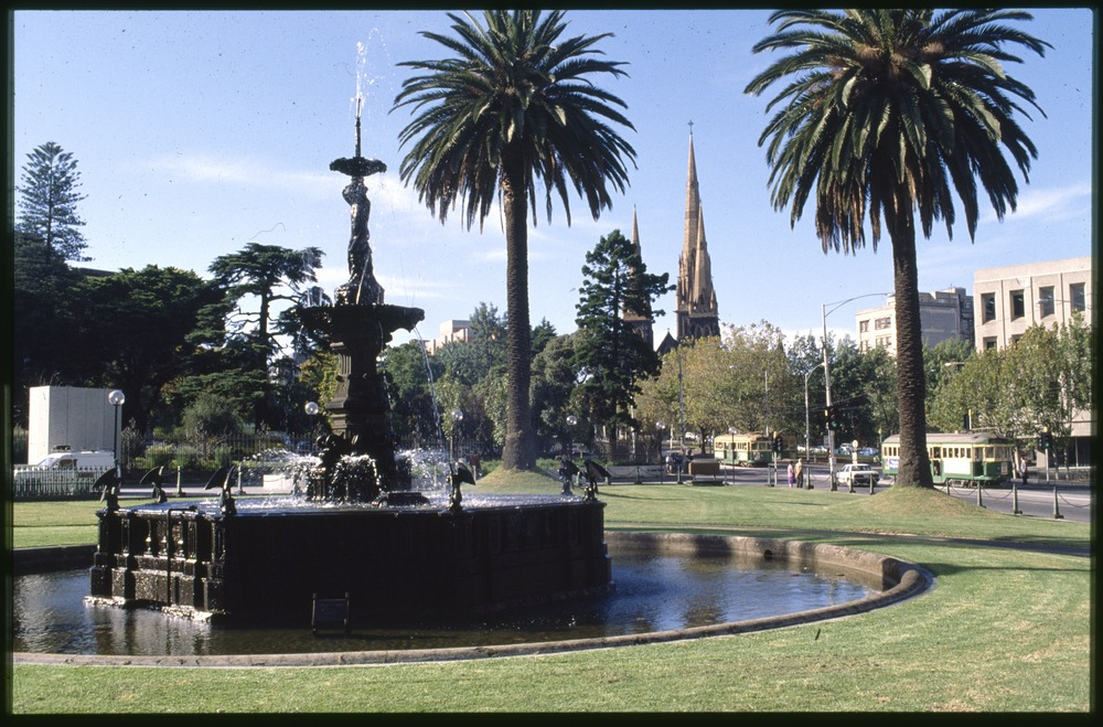 Stanford Fountain, Corner of Spring and Macarther Streets, Melbourne