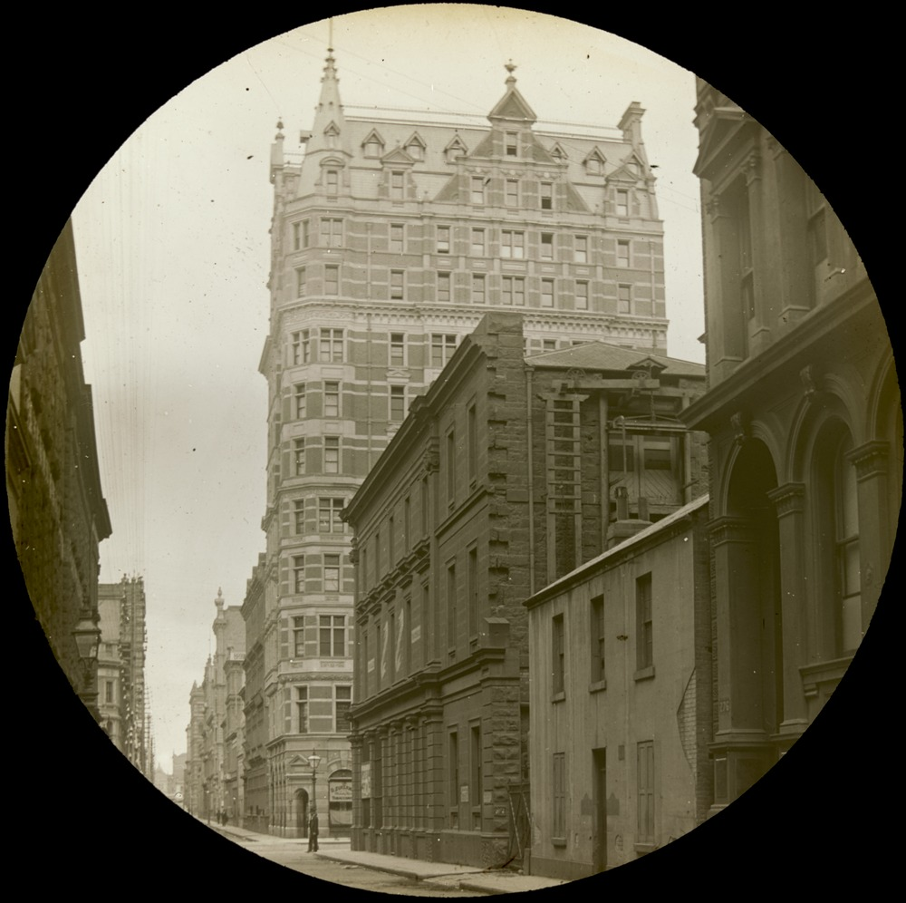 Australian building, built in 1889 and demolished 1980, the tallest building in Melbourne from 1889- 1929.