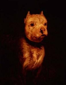 Theodore Gericault Portrait of a Bulldog, 1816-18