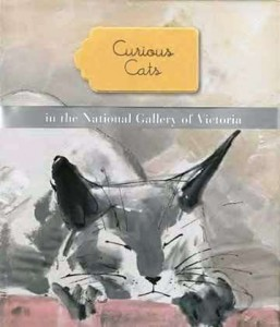 Curious cats in the National Gallery of Victoria. Melbourn: 2012