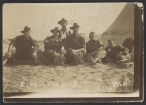 Some of the boys, Mena: 1915