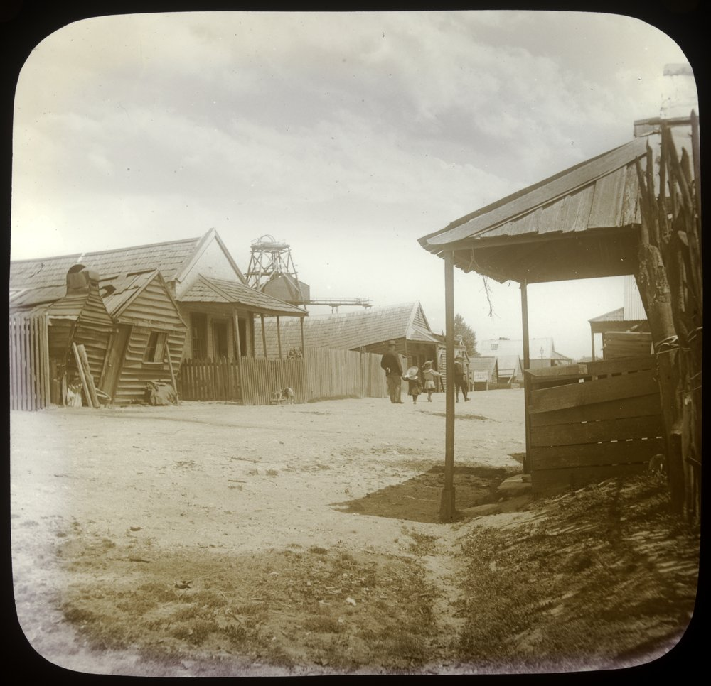 View in Chinese Camp, Ballarat