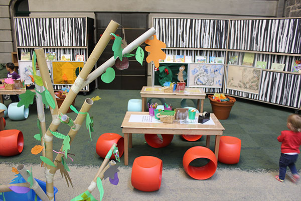 Indoor Play Pod with children's activities