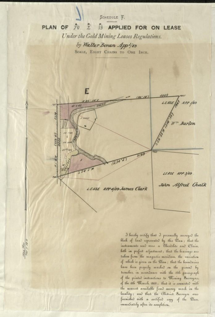 Ballarat mining map