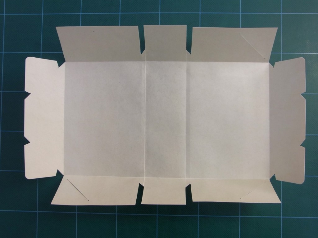 A limp vellum binding is made