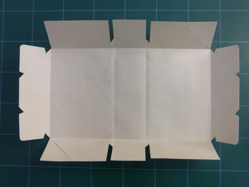 A limp vellum binding is made