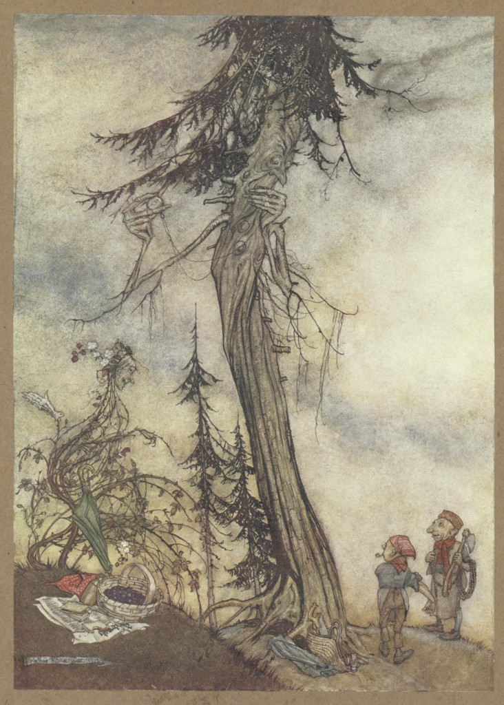 'The Fir-Tree and the Bramble'