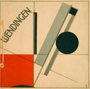 Wendingen: cover by El Lissitzky