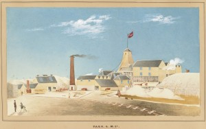 Park Gold Mining Company by Mr. Tibbits, c.1870
