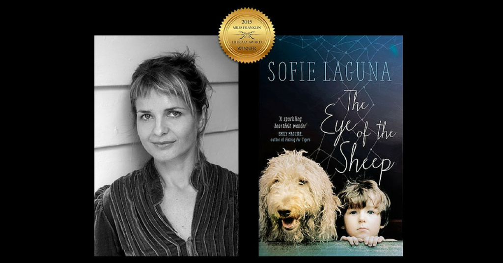 Sofie Laguna, The eye of the sheep cover