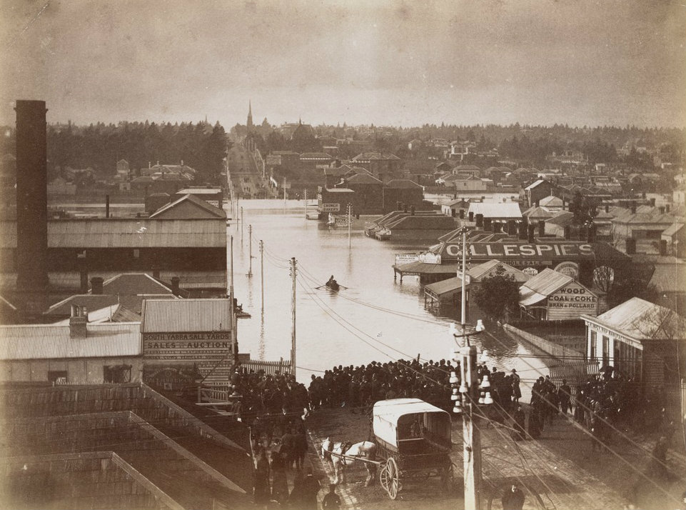 The great flood of 1891