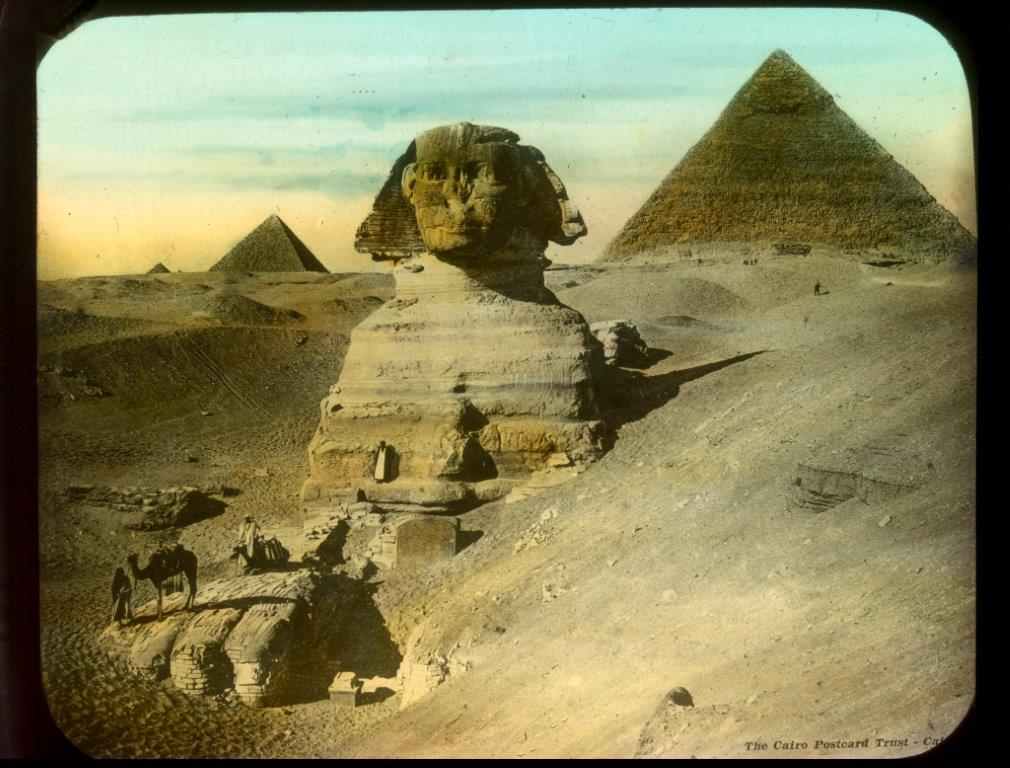 Photo of the sphinx in Egypt