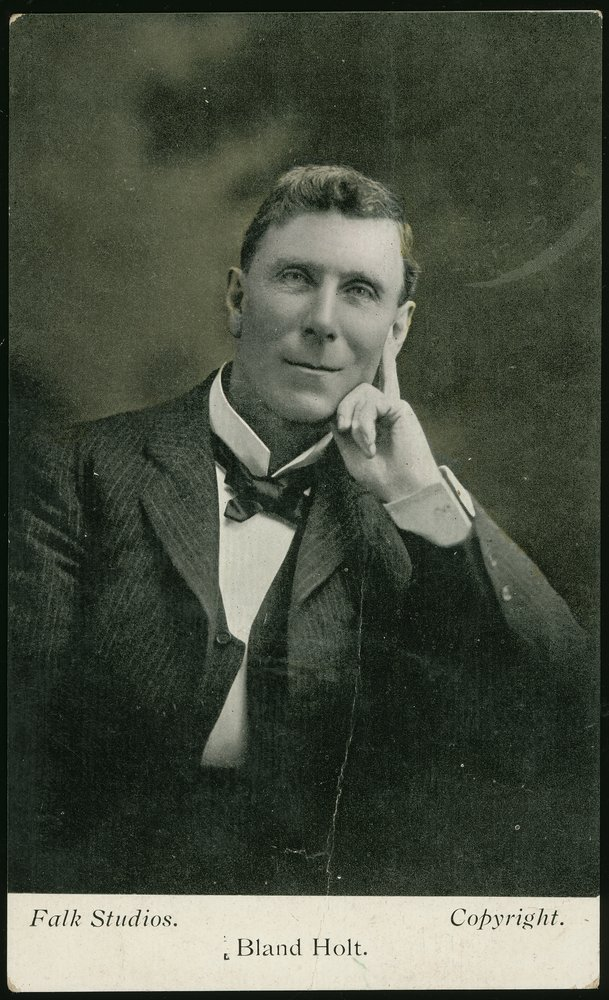 Portrait of Bland Holt