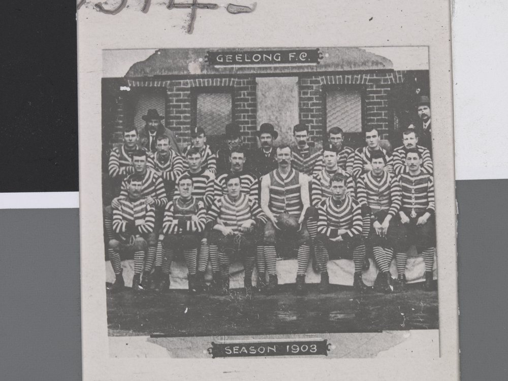 Geelong FC. Season1903. Photographer; John Alfred Sears