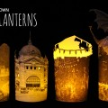 Some pretty lanterns made from images in our collection
